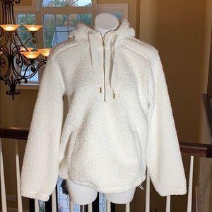 Old Navy Sherpa Sweatshirt Sz L
